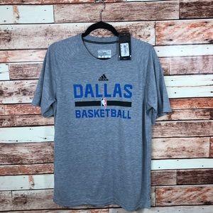 Adidas Dallas Basketball Mavericks Ultimate Tee